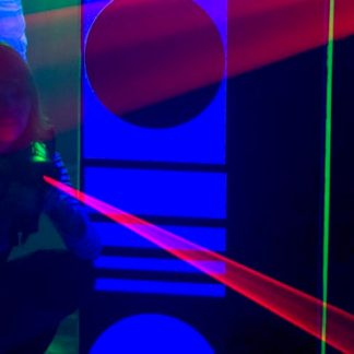 Laserdome för två
