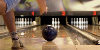 Bowling och fika
