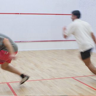 Privatlektion i squash